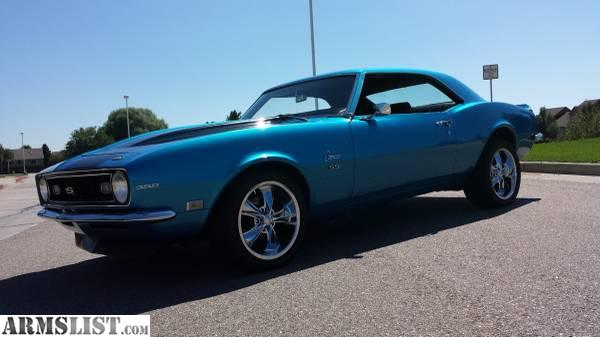 armslist for sale 1968 chevrolet camaro ss clone 383 stroker 700r4 trans ford 9 rear diff. Black Bedroom Furniture Sets. Home Design Ideas
