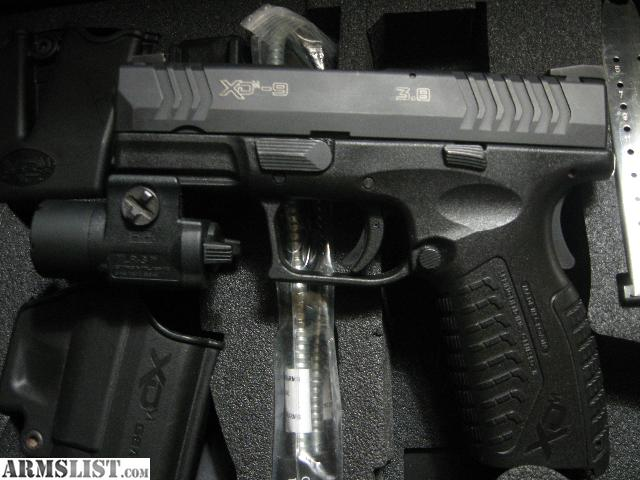 ARMSLIST - For Sale: Springfield XDM .. 3.8.. 9mm full size