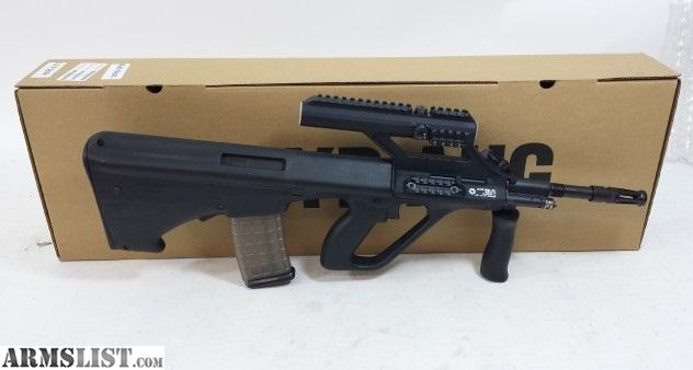 Armslist for sale nib steyr aug sa m1 2399 new in boxnewest rifle in the aug family the m1 this rifle has a raised 15x scope on a new support rail voltagebd Gallery