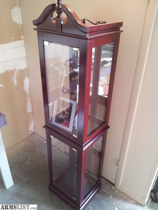 armslist for sale display case glass front sides. Black Bedroom Furniture Sets. Home Design Ideas