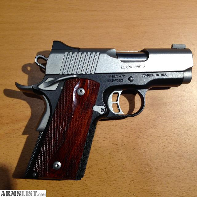 Kimber Ultra CDP II Custom 1911 9mm wCTCGrips  :: kannajibcha gq