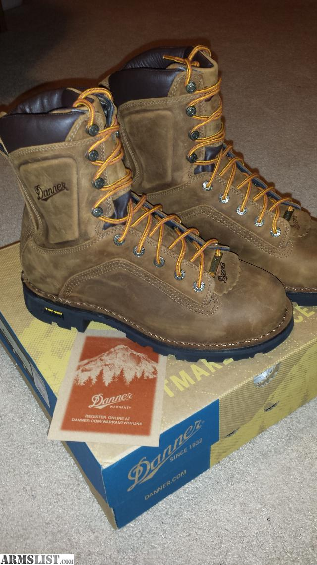 ARMSLIST - For Sale: Brand New Danner Quarry Boots 8 Inch Size 8 EE