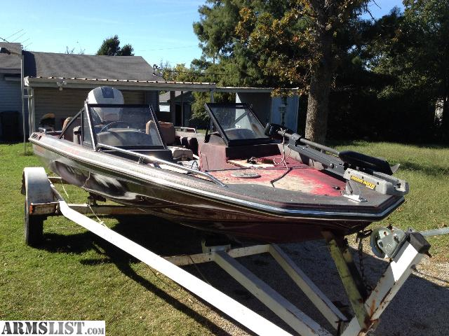 Armslist for sale 1988 glasstream fish and ski boat for Fish and ski boat
