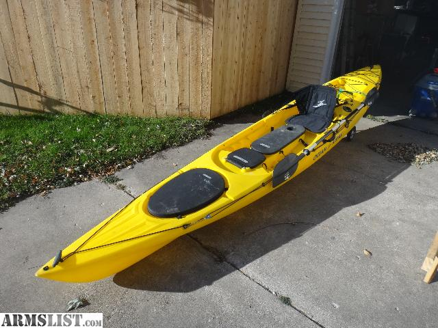 Armslist for sale trade ocean kayak trident 15 fishing for Craigslist fishing equipment