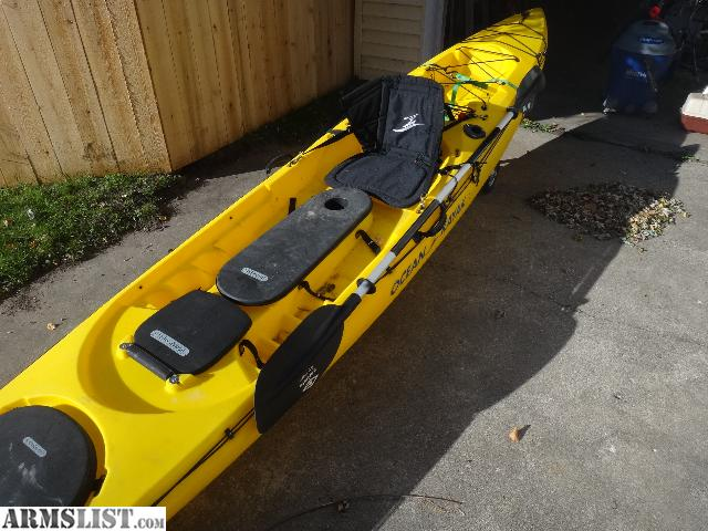armslist for sale trade ocean kayak trident 15 fishing