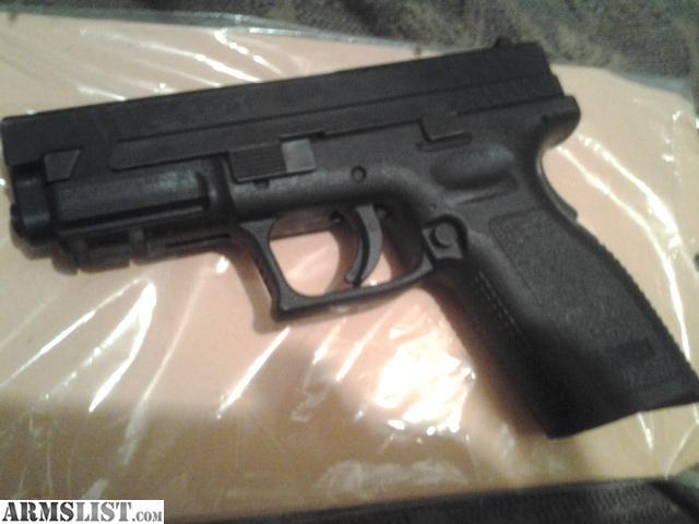 Springfield xd 9mm mit Daumen Sicherheit