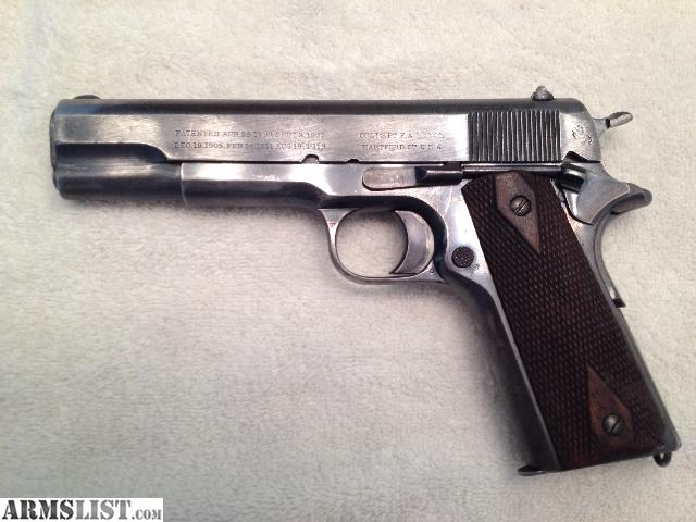 Locked and Loaded: My New Old Colt 1911