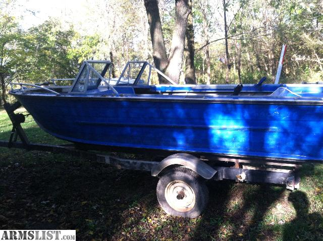 Armslist for sale 16 foot aluminum fishing boat for 16 ft fishing boat