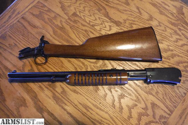 Rossi Model M59 22 Magnum Wmrf Pump Action Takedown Rifle