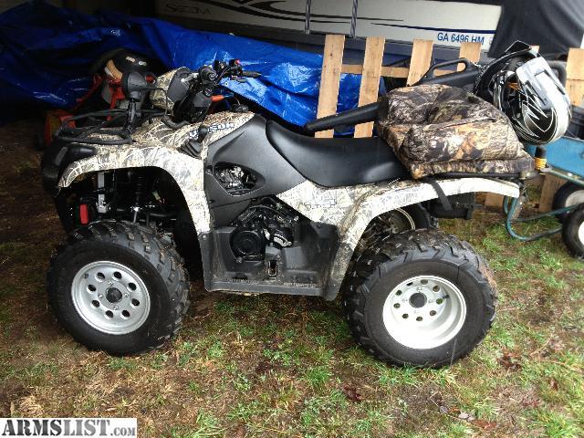 ARMSLIST - For Sale/Trade: 2007 Suzuki Vinson 500 4x4 Camo ATV 412