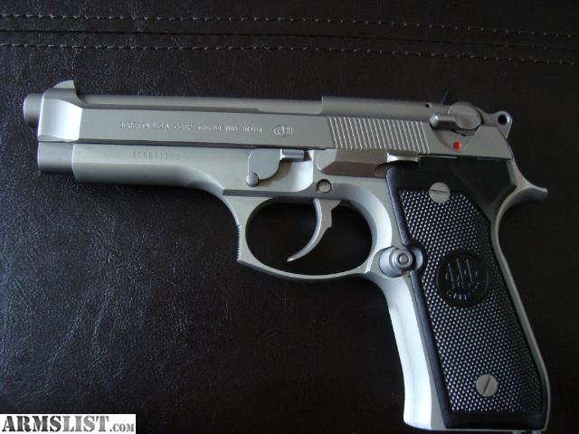 ARMSLIST - For Sale: Beretta Stainless 92FS