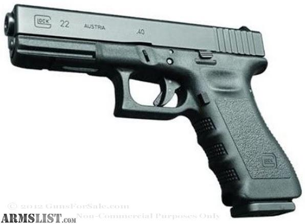 ARMSLIST - For Sale: Two Glock 22\'s both new Gen 3 frames