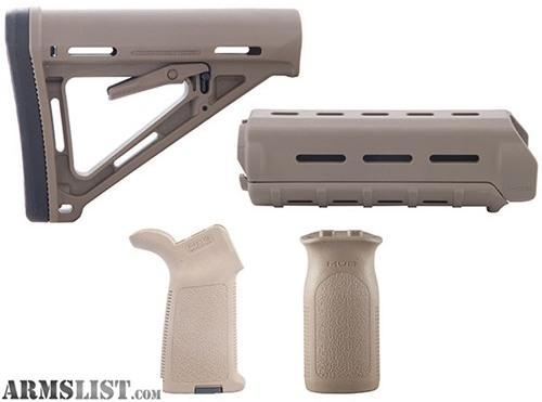 Armslist For Sale Magpul Furniture Kit Moe Us Version Pistol Grip Stock Handguard And