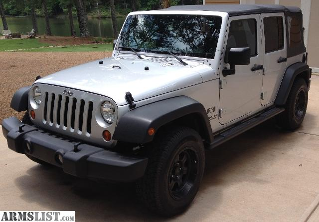 armslist for sale 2007 jeep wrangler unlimited. Cars Review. Best American Auto & Cars Review