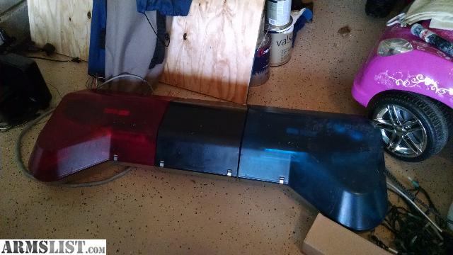 Armslist for sale police light bar for sale police light bar aloadofball Images