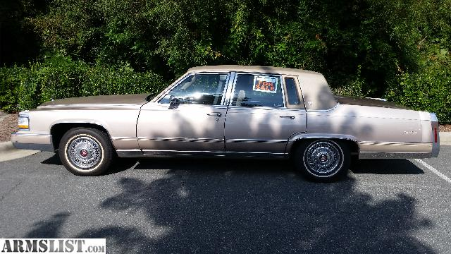 ARMSLIST - For Sale/Trade: 1990 cadillac brougham d'elegance
