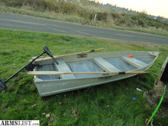 Armslist for sale trade 10ft aluminum v hall personal for Personal fishing boat
