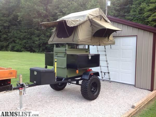 armslist for sale off road military tent trailer. Black Bedroom Furniture Sets. Home Design Ideas