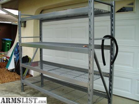 armslist for sale sturdy steel heavy duty storage rack. Black Bedroom Furniture Sets. Home Design Ideas