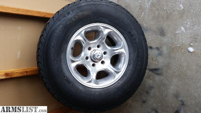Armslist For Sale Trade 16x8 Polished Chevy 6 Bolt Wheels