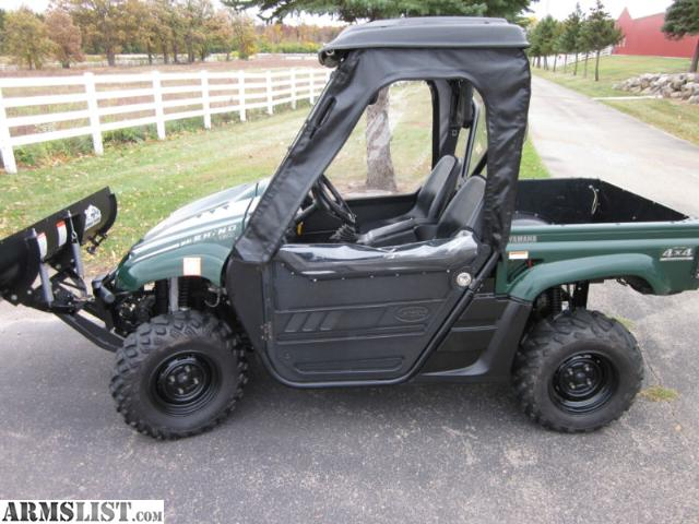 Armslist For Sale 2004 Yamaha Rhino 660 4x4 W Plow