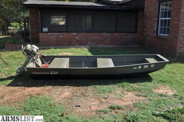 Armslist for sale 2013 topper tracker jon boat 12 39 with for Briggs and stratton outboard motors for sale
