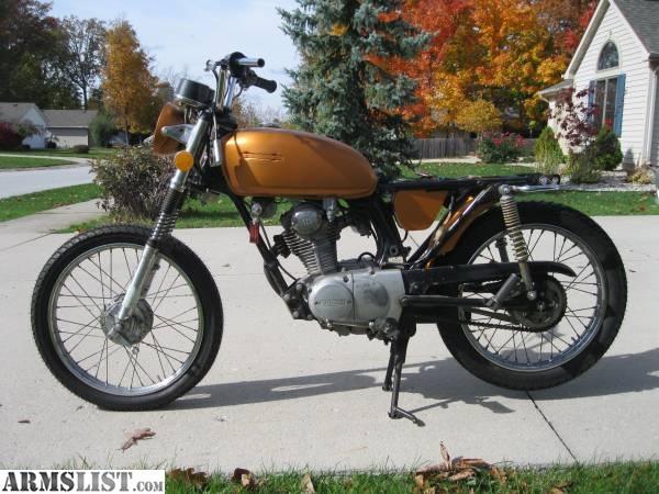 Armslist for sale trade 1974 honda cb125s 125cc cafe bike bobber