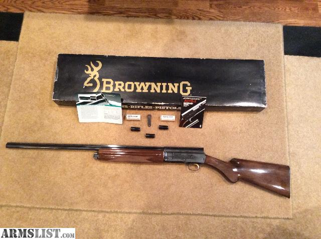 "For Sale: Browning Auto-5, 20 Gage, 26"" Barrel"