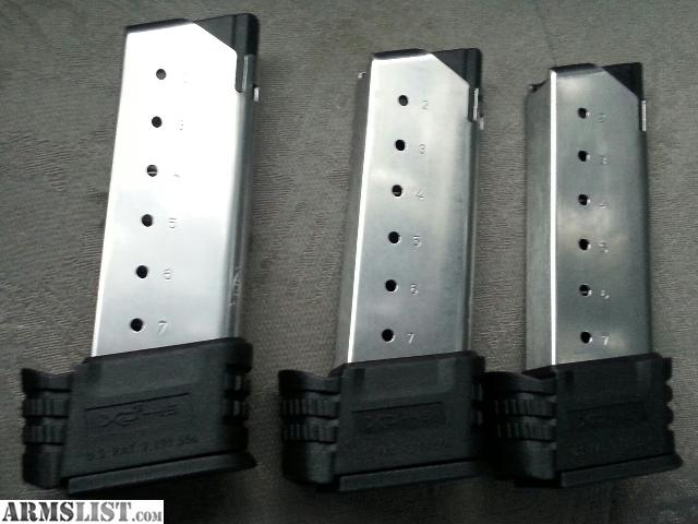ARMSLIST - For Sale  XDs 45 extended magazines