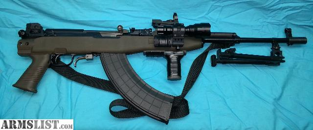 Iu0027m Selling My Custom Norinco SKS Rifle Chambered In 7.62x39. It Has A NEW  Satin Black Finish, OD Green Tapco T6 Stock System, Bipod, Foregrip, Muzzle  Brake ...