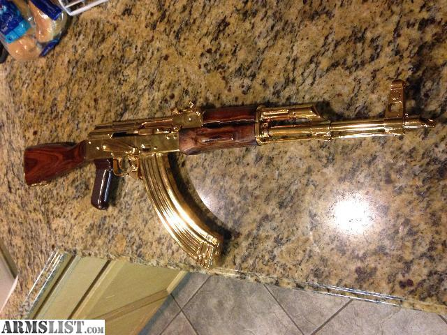 armslist for sale gold plated ak47 7 62x39