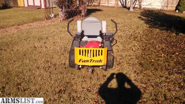 Hustler fast trak zero-turn mowers