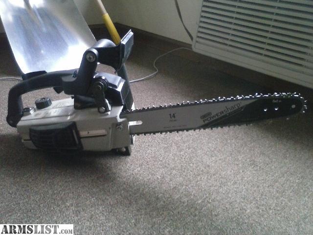 how to handke cut that pinches chainsaw