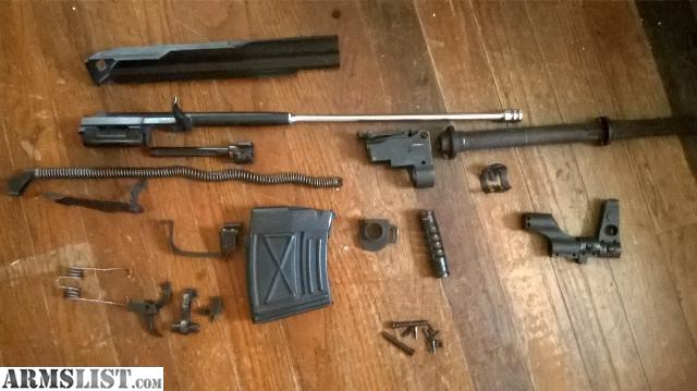 ARMSLIST - For Sale: #S MATCHING PSL dragunov type PARTS KIT
