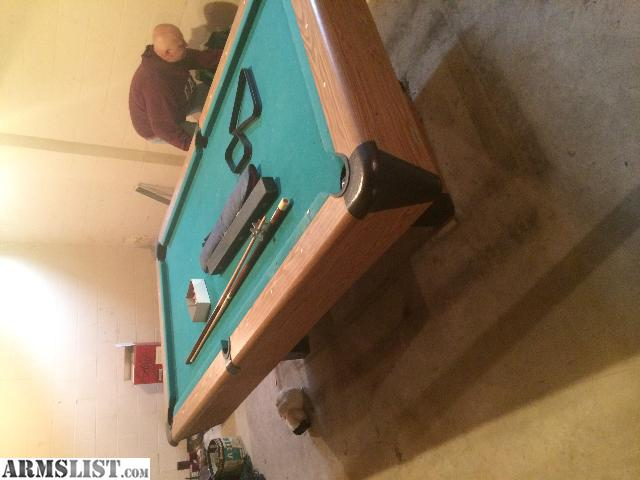 Armslist for sale stand up deep freezer and pool table for Stand up pool