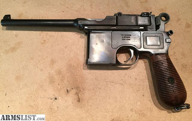Broomhandle Mauser Lanyard Ring