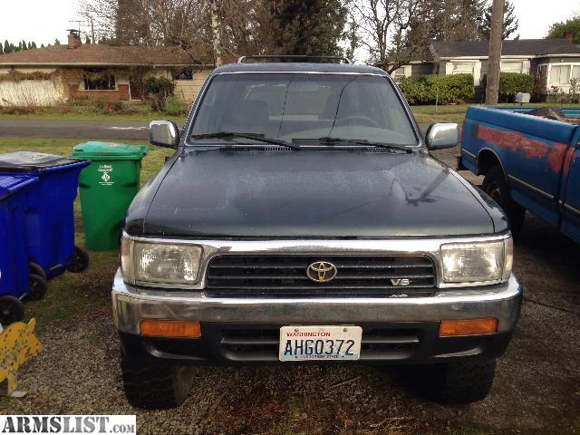armslist for sale 1995 toyota 4runner v6 4x4. Black Bedroom Furniture Sets. Home Design Ideas