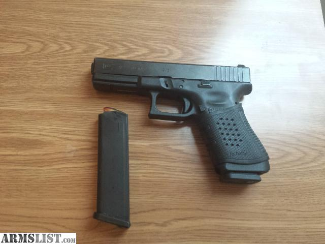 ARMSLIST - For Sale: Glock 17 9MM with Leather Holster