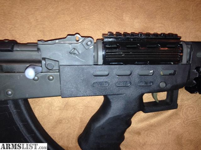 armslist for sale trade century arms ak 47 bullpup semi auto nice. Black Bedroom Furniture Sets. Home Design Ideas