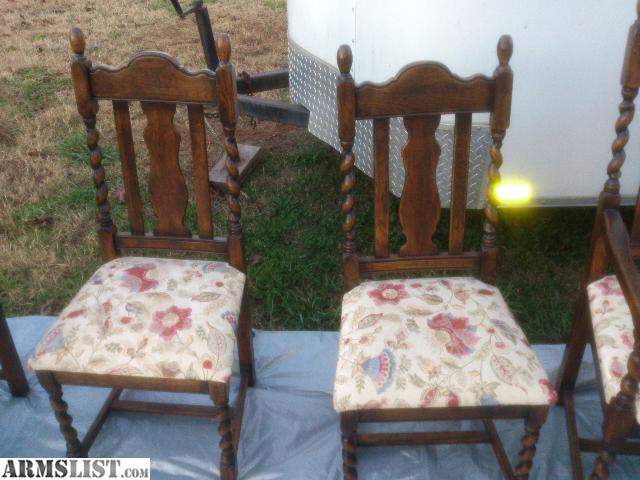 Armslist for sale trade dining room table w 8 chairs for Dining room tables jacksonville nc