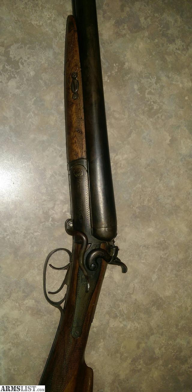 armslist for sale antique side by side shotgun. Black Bedroom Furniture Sets. Home Design Ideas
