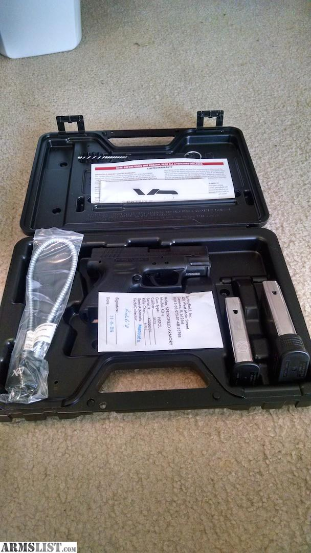 Armslist for sale new springfield xd subcompact 9mm for Springfield registry of motor vehicles