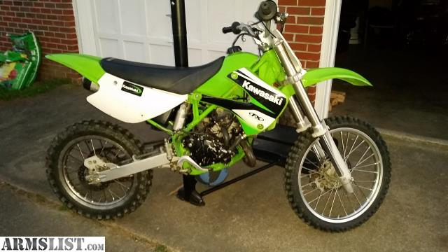 ARMSLIST - For Sale/Trade: Kawasaki kx100 2stroke dirt bike