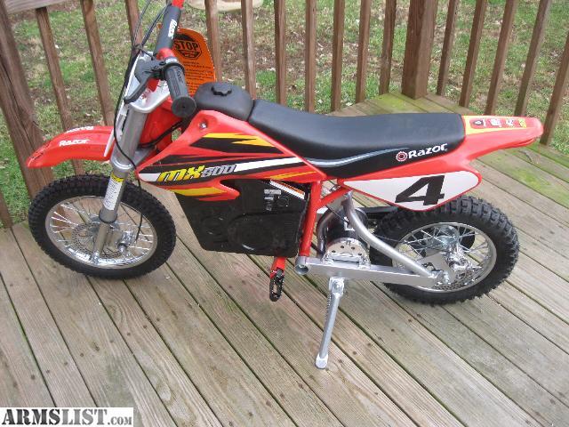 Armslist For Sale Razor Electric Dirt Bike Mx 500