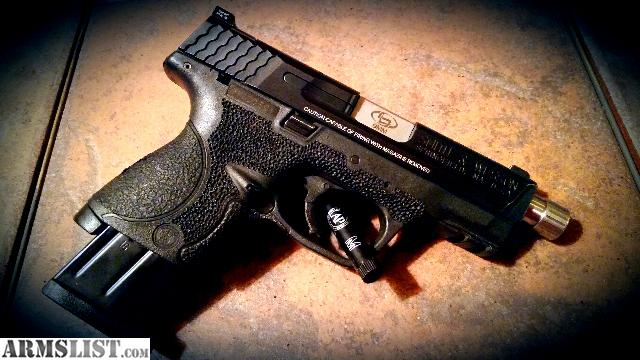 For Sale/Trade: Custom Smith And Wesson M&p 9c