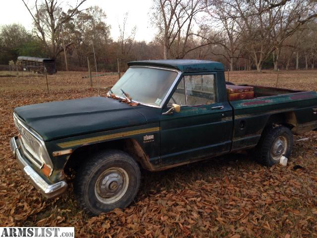 armslist for sale 1978 golden eagle jeep pickup. Black Bedroom Furniture Sets. Home Design Ideas