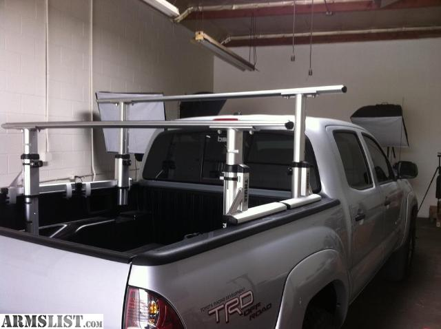 ford rack bed truck ladder f com etrailer racks xsporter video review tv thule