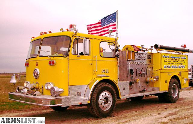 armslist for sale trade seagrave fire truck and ford dump truck with caterpillar 3208 diesel. Black Bedroom Furniture Sets. Home Design Ideas