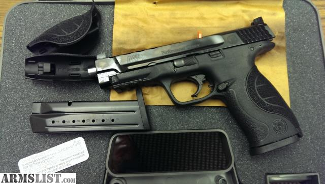 Armslist for sale s w m p perf center ported 5in 9mm for M p ported core 9mm