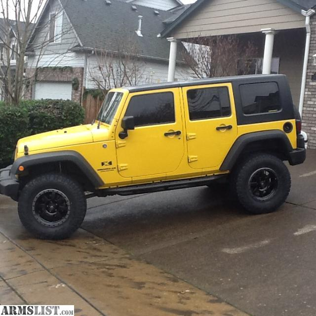 armslist for sale 2008 jeep wrangler unlimited 4 door. Black Bedroom Furniture Sets. Home Design Ideas